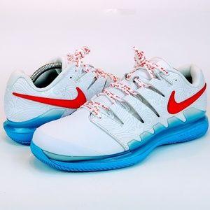 NEW Nike Air Zoom Vapor X Leather Nishikori Tennis
